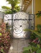 Privacy Gates, Large Selection of Custom Decorative Ornamental Metal Garden Gates