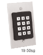 AAS Single Gang box Keypad with 50 code