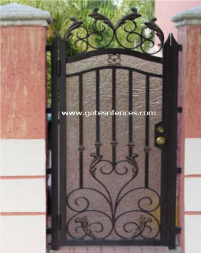 Decorative  Metal  Gates Iron Decorative Metal Gates Garden Metal Gate