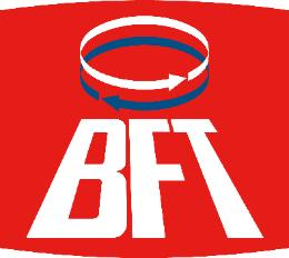 BFT Gate Openers Brand Name and Logo