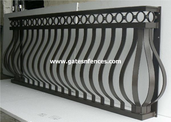 Fashion modern terrace handrail design modern house for Terrace railing design