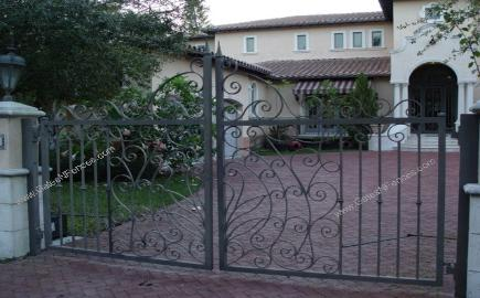 Electric Swing Gate, Estate Swing Gates, Swing Gate Design, Heavy Duty Swing Gate, Security Swing Gate