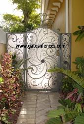Decorative Wrought Iron Gates Decorative Garden Gate