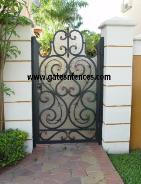 Garden Gate with Security Gate Backing all our gates design can be made to match