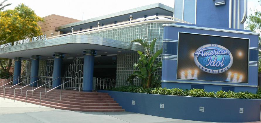 See our work at the Main Entrace of AMERICAN IDOL in Disney's Hollywood Studios in Florida, Custom Design made of Aluminum Powder Coat Oven Baked in a mirror high gloss silver