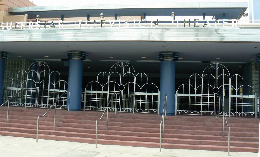 Job Made by US at Disney's Hollywood Studios 3 Main Entrance each with 2 gates and stationary center panel