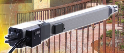 The Model 6003 swing gate actuator offers convenience and reliability in a compact design