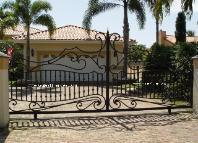 Custom Build Secuirty or Safety Driveway Gates in Aluminum or Wrought Iron
