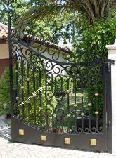 Custom Security Gates with a flair