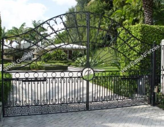 Aluminum Slide Gates, Aluminum Security Gates, Decorative Aluminum Gates, Aluminum Swing Gates