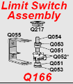 Q166 Limit Switch Assembly