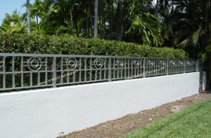 Fences Gates | Iron Gates Fences | Residential Metals - Aluminum or Wrought Iron Metal Fences and Gates