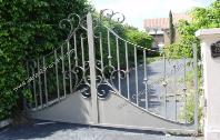 Custom Made Safety Driveway Gates - Safety Extra Wide Security Gate