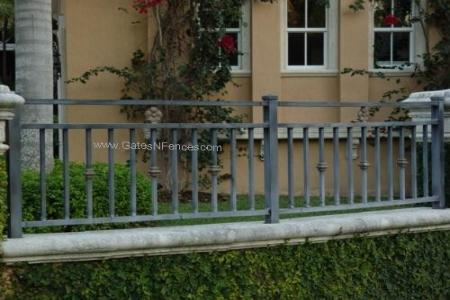 wrought iron fences rod iron fences residential