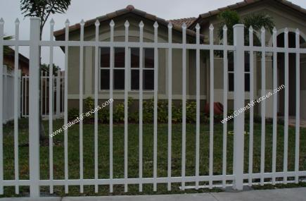 Picket Fences | Aluminum Picket Fences | Residential or Industrial Picket Fences