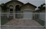 Residentail Aluminum Driveway Gate, Residential Metal Security Entrance Gate
