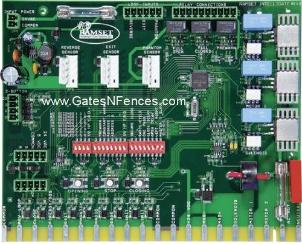Ramset Intelligent Main Circuit Control Boards and Control Panels for Gate Openers and Operators