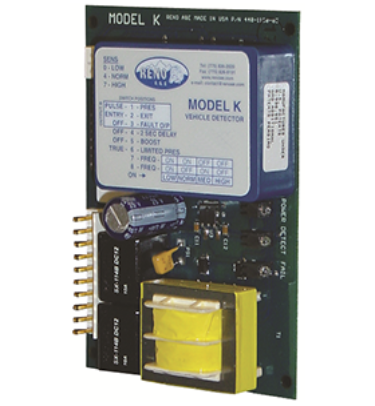 Reno PC Board Loop detector Model K Single Channel Dual relay