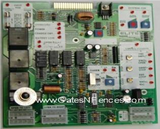 Elite Robo Swing or Slide Main Circuit Control Boards and Control Panels for Gate Openers and Operators