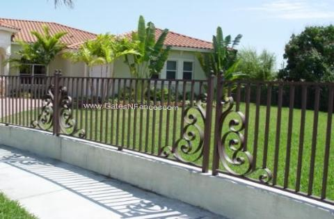 Privacy Steel Fence, Iron Steel Fence, Commerical Iron Fence, Iron Fence Company