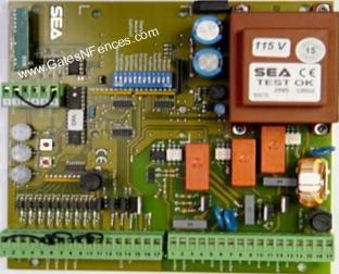 SEA Older Model Main Circuit Control Boards and Control Panels for Gate Openers and Operators
