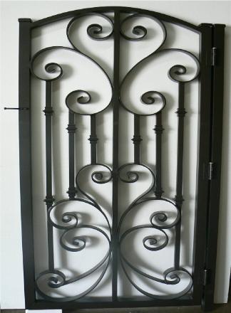 Decorative Aluminum Driveway Gates Wrought Iron Decorative