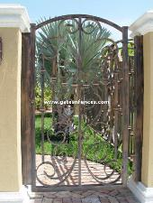 Decorative Aluminum Garden Gate Iron Garden Gates