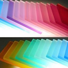 Privacy Panels in Transparent Colors