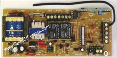 Solo Bravo older style Main Circuit Control Boards and Control Panels for Gate Openers and Operators