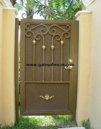 Privacy Garden Gate available for driveway gate