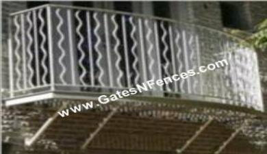 Outdoor Railings - Exterior Balcony Railings - Guard Rails Railings