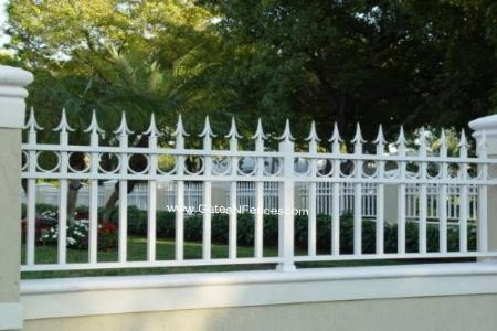 Ornamental Decorative Fence, Ornamental Fence Company, Ornamental Custom Fence, Aluminum Ornamental Fence