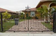 Custom Design Driveway Gate | Front Entracne Entry Sliding Driveway Gate