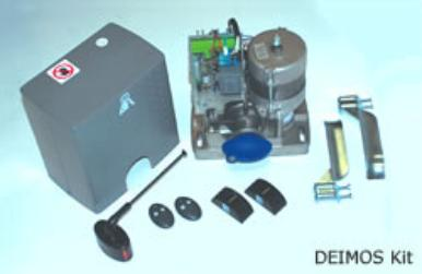 Kit Includes, 1 Diemos Sliding Gate Opener,1 Antenna,2 Transmitters,1 set of Photo Cell, 1 Internal Control Panel