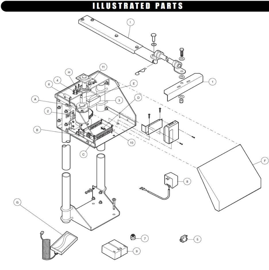 Liftmaster parts gate operators openers part