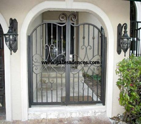 Entry way Main Entrance gate, this model can be made into garden or drivewauy gate