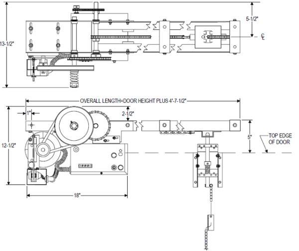 Power master overhead doors operators powermaster over