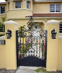 Same Designs of Driveway Gates in Wrought Iron Gate Designs Iron Gate