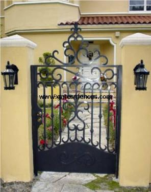 Security and beauty in this garden gate available matching Driveway Gate, it can also be made into a double gate and or Privacy by adding the rear cover