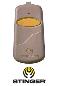 Gate remote control clicker 318 mhz transmitter compatible with Allstar 9931 - Heddolf p220